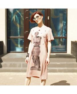 Платье-футболка Antipodium 'Bodoni' с Венерой