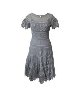 Платье Bolongaro Trevor 'Albert' серое