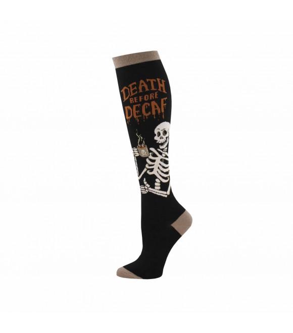 Гольфы Socksmith «Death before decaf»