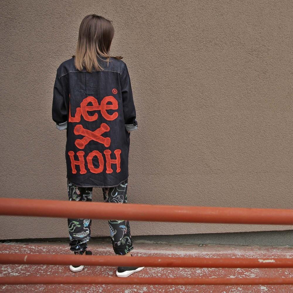 Рубашка-оверсайз House Of Holland x Lee