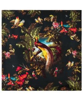 Платок Klements «Вулкан», 140x140, шёлковый шифон