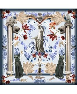 Платок Klements x British Museum, 140x140