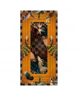 Платок Klements «Гардеробная», шёлк, 140x70