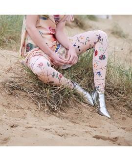 Леггинсы Klements 'Margate' с принтом «Цветочный взрыв»