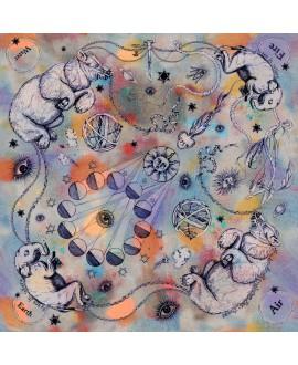 Платок Klements 'Occult', 140x140