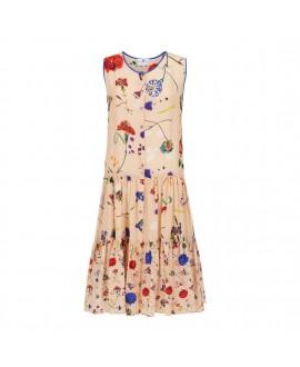 Платье Klements «Тулуза» в расцветке «Цветочный взрыв»