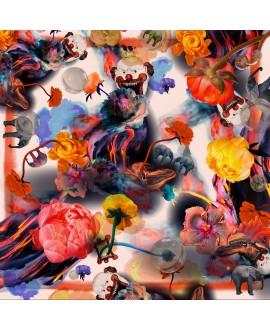 Платок Klements 'Funhouse', 140x140 (НА ЗАКАЗ)