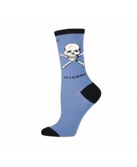 Носки Socksmith «La Calavera» синие
