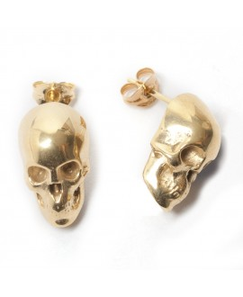 LeiVanKash Skull Stud Earrings