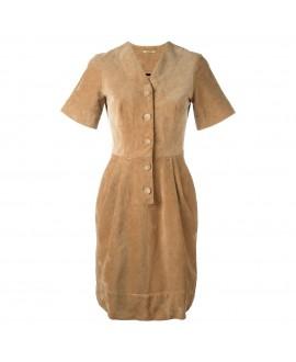 Вельветовое платье Peter Jensen 'Nurse'