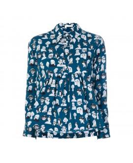 Рубашка Peter Jensen с орнаментом «Музы»