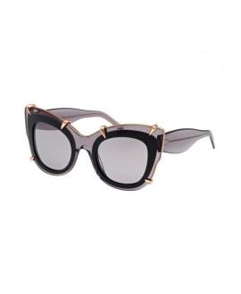 Очки Pomellato PM0003S 01 полупрозрачный чёрный
