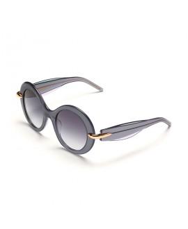 Очки Pomellato PM0005S 003 полупрозрачный серый