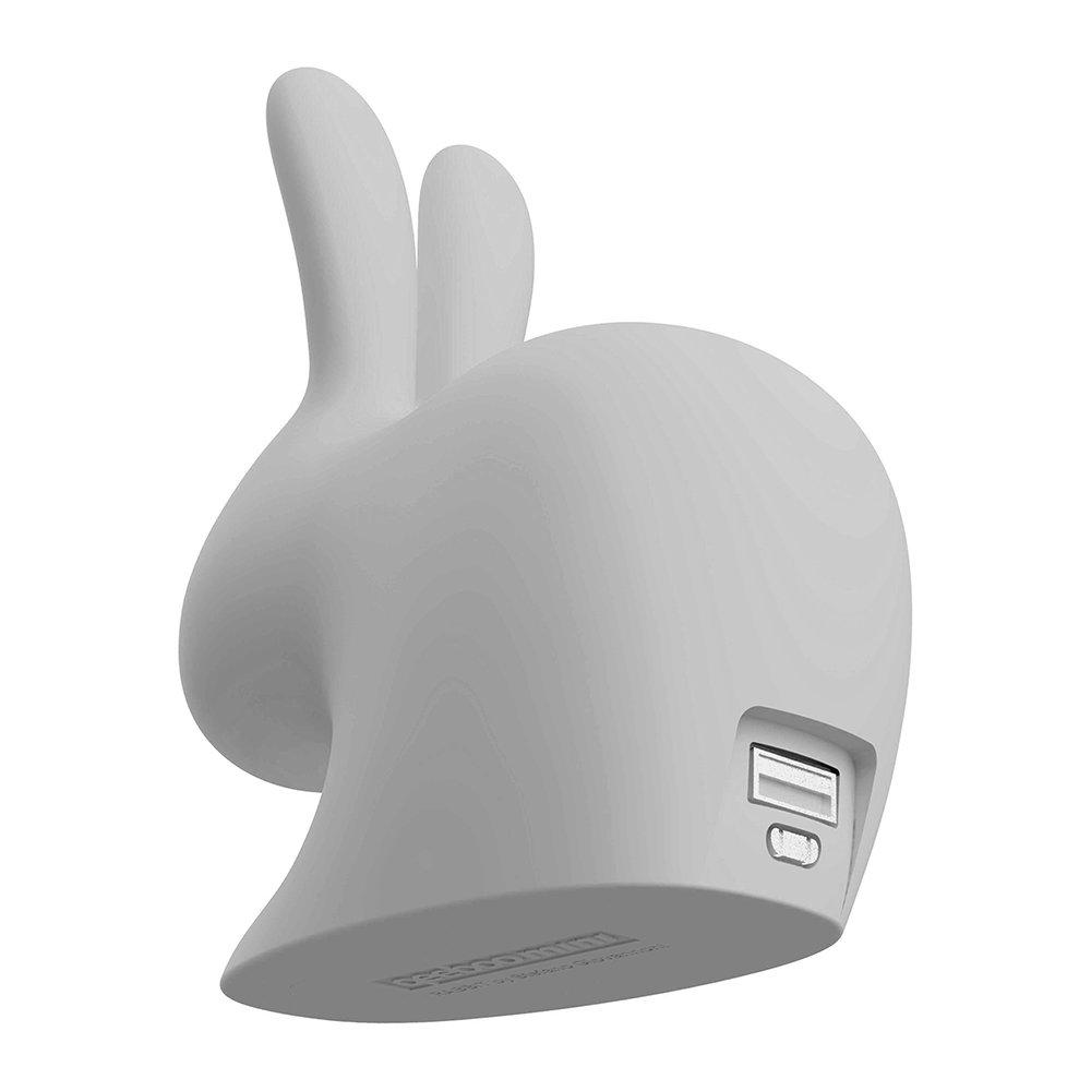 Зарядное устройство Qeeboo Rabbit Mini серое