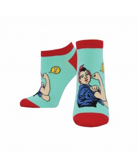 Носочки Socksmith «Rosie» голубые