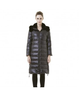 Пуховое пальто Snowman New York '818A' черное