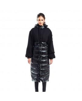 Пуховое пальто Snowman New York 'Haruko' черное