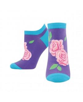 Носочки Socksmith «Розы» лиловые