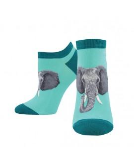 Носочки Socksmith «Слон» мятные
