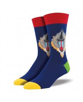 Мужские носки Socksmith «Мандрил» синие