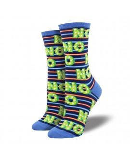 Носки Socksmith «Нет» синие