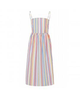 Платье Sugarhill в конфетную полоску