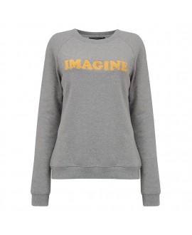 Свитшот Sugarhill Brighton 'Laurie' со слоганом 'Imagine'