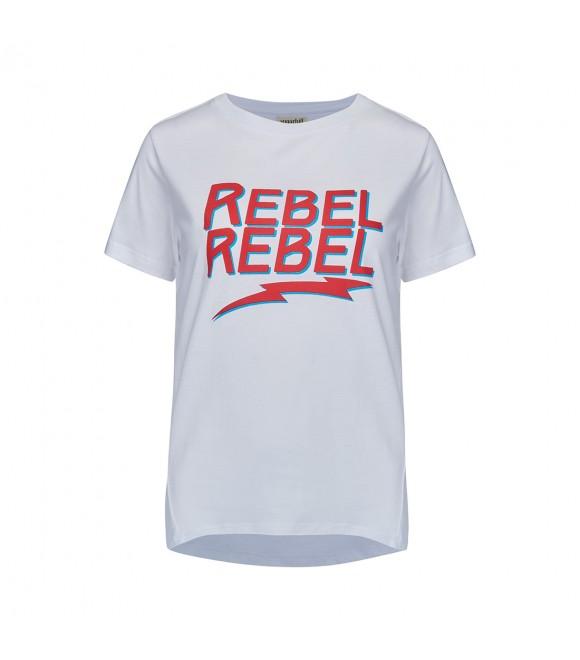 Футболка Sugarhill Brighton 'Mimi' со слоганом 'Rebel Rebel'