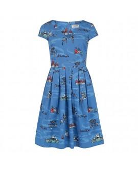 Платье Sugarhill Brighton 'Sophie' с видами Брайтона