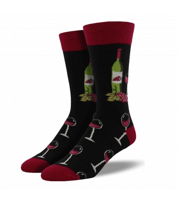 Мужские носки Socksmith «Винная сцена»