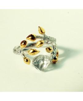 Кольцо Alchemica «Янтарный рассвет»