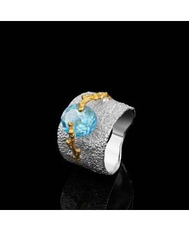 Кольцо Alchemica «Брызги океана»