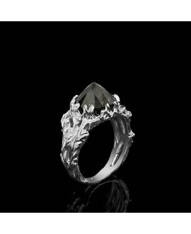 Кольцо Alchemica «Вершина» с морионом