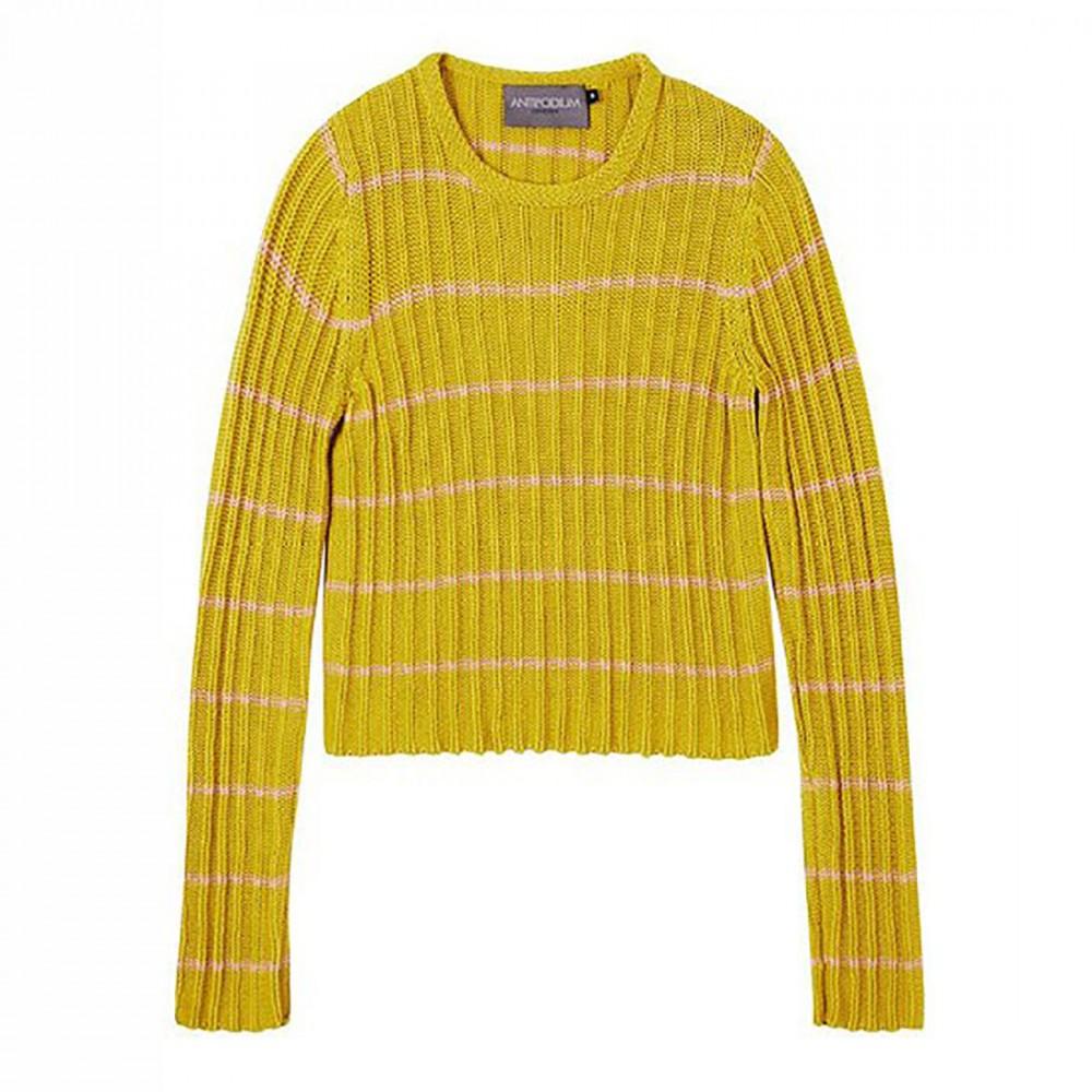Свитер Antipodium «Прилив» желтый