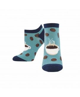 Носочки Socksmith «Кофе» голубые