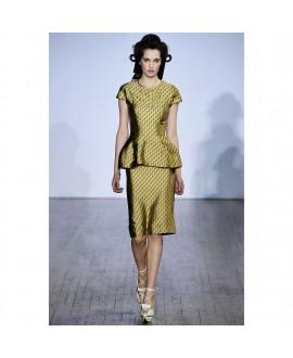Платье Basso & Brooke с баской
