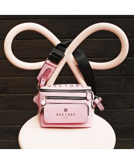 Поясная сумка Bretone розовая