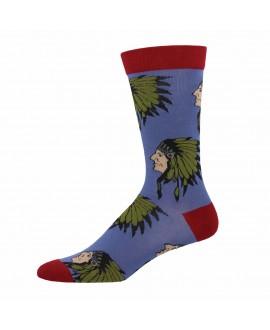Мужские носки Socksmith «Вождь» бамбуковые