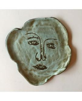Тарелка Cassius Clay by Daria Davydova «Актёр»