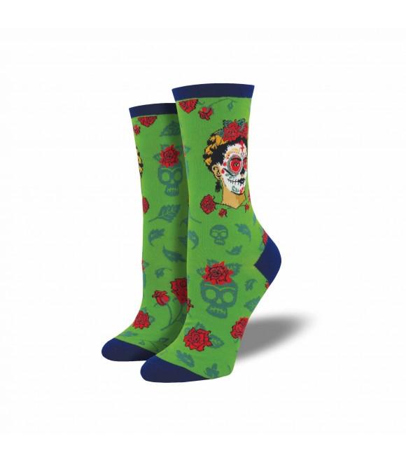 Носки Socksmith «День Фриды» зелёные