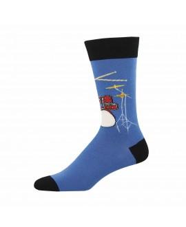 Мужские носки Socksmith «Барабанное соло» синие