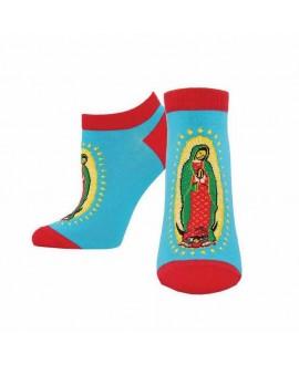Женские носочки Socksmith «Дева Мария Гваделупская» голубые