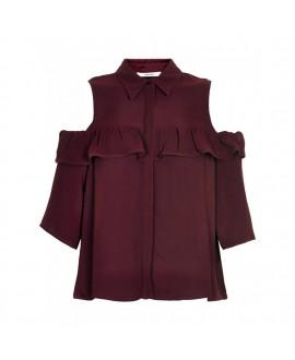 Блуза Gestuz «Genine» в цвете «Винная дегустация»