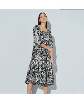Платье Ghospell 'Graphic Wave'