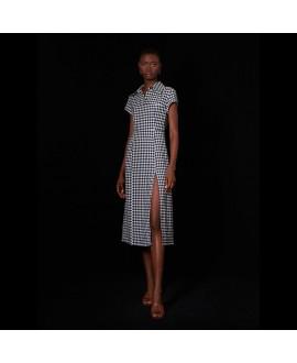 Платье Ghospell 'Light Squares'