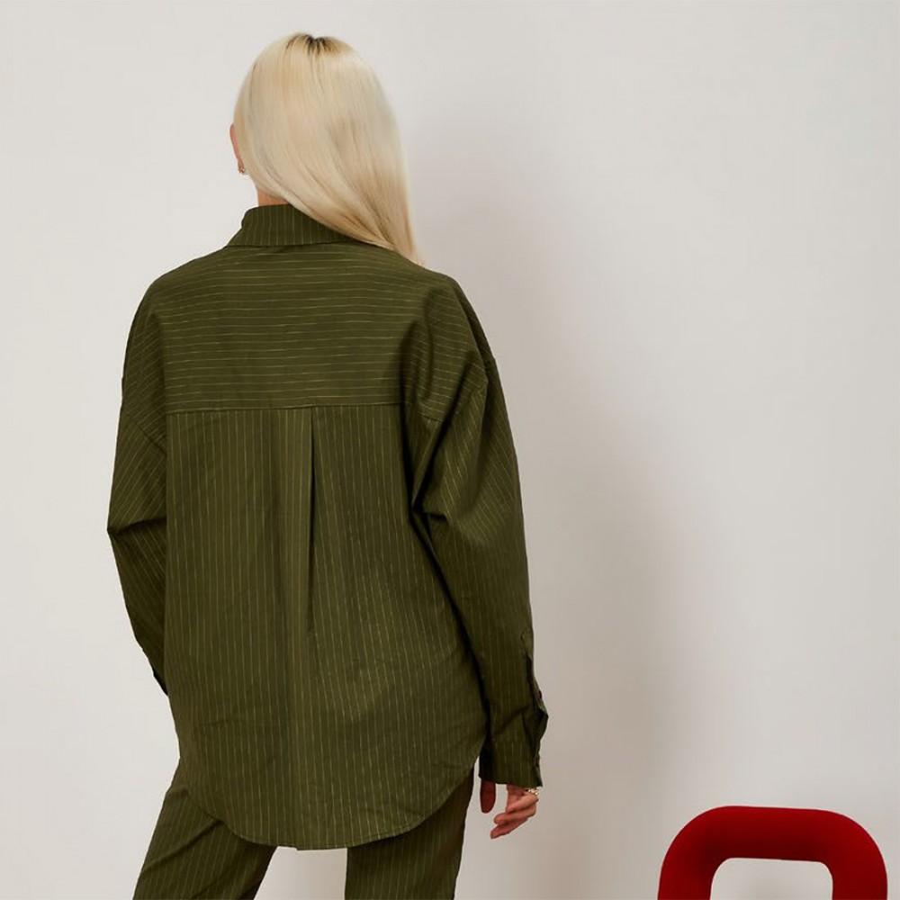 Рубашка Ghospell 'Linear Lines' - Фото 2