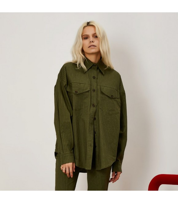 Рубашка Ghospell 'Linear Lines'
