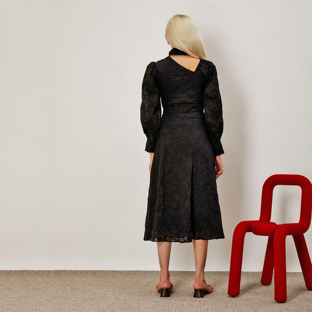 Платье Ghospell 'Minimal Knot'