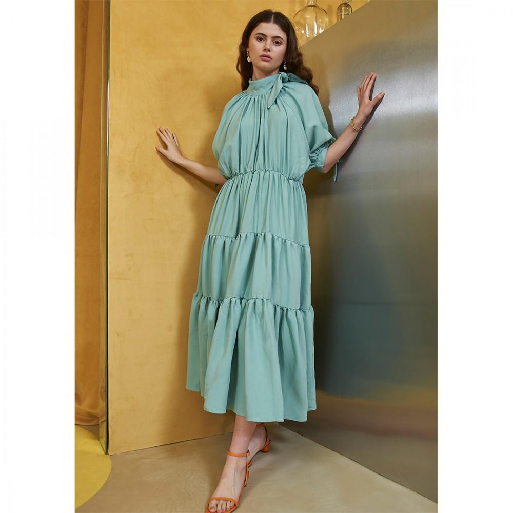 Платье Ghospell 'Ocean Blue'