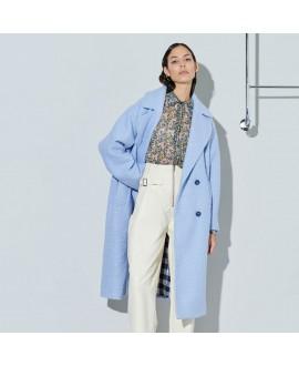 Пальто Ghospell 'Paddle' голубое